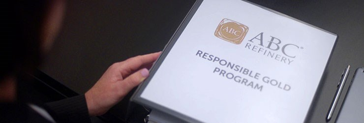 ABC Refinery Responsible Gold Program binder